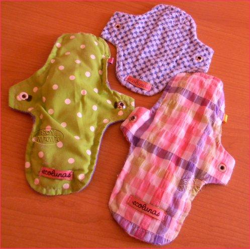 Toallas femeninas de tela soy mama blog - Cuales son las mejores toallas ...
