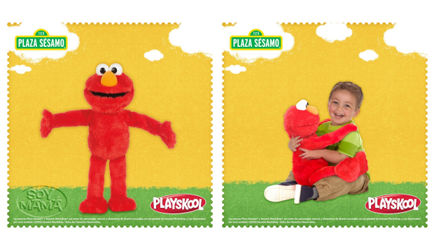 Revision de producto Elmo Grandes Abrazos